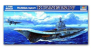 "Trumpeter 1/700 scale model 05713 Russian Navy ""Kuznetsov"" Carrier"