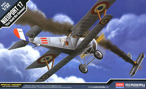 "ACADEMY 12121 Newport 17 fighter ""War Centenary Limited"""
