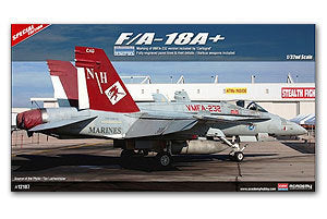 "ACADEMY 12107 F / A-18A + Hornet carrier-based fighter ""VMFA-232 Red Devil"""