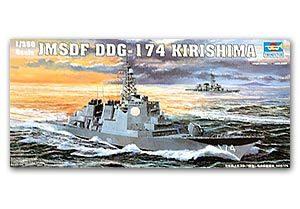 Trumpeter 1/350 scale model 04533 J.M.S.D.F. DDG-174 Kirishima missile destroyer