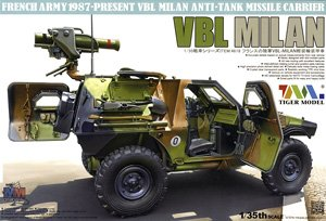 Tiger Model 1/35 scale 4618 Panhard VBL4X4 light armored vehicles Milan anti-tank missile mounted type