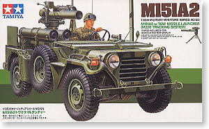 TAMIYA 1/35 scale models 35125 M151A2 Light combat off-road vehicle type anti-tank missile mounted type