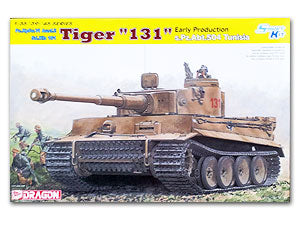 1/35 scale classification Dragon 6820 6 Tiger-type chariot pre-s.Pz.Abt.504 & quot; 131 & quot; Tunisia