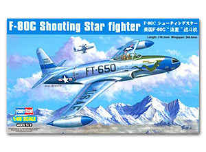 "Hobby Boss 1/48 scale aircraft models 81725 F-80C ""meteor"" fighter"