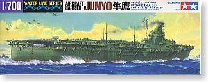 TAMIYA 1/700 scale model 31212 World War II Japanese Navy Falcon aircrafts carrier JUNYO