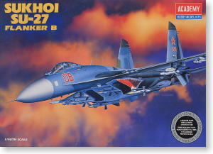 ACADEMY 12270 SU-27 Flanker fighter B