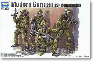Trumpeter 1/35 scale soldier figure model 00422 German Special Forces Commando (KSK)