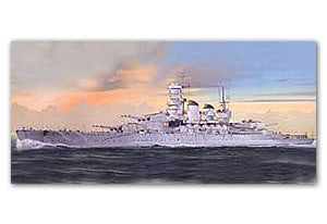 "Trumpeter 1/700 scale model 05778 Italian Navy Vinette ""Ritolio"" battleship 1941"