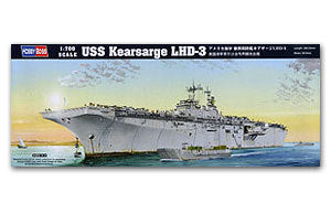 "Hobby Boss 1/700 scale war ship models 83404 US Navy Hornets LHD-3 ""Chil"""