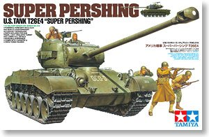 "TAMIYA 1/35 scale models 35319 T26E4 ""Super Pershing"" chariot"