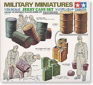 TAMIYA 1/35 scale models 35026 World War II German military fuel container suit