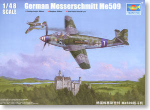Trumpeter 1/48 scale model 02849 Messe Myster Me509 fighter