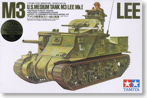 "TAMIYA 1/35 scale models 35039 M3 ""Lee"" medium chariot"