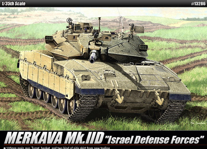 "Mk.IID ACADEMY 13286 Merkava main battle tank ""limited goods"""