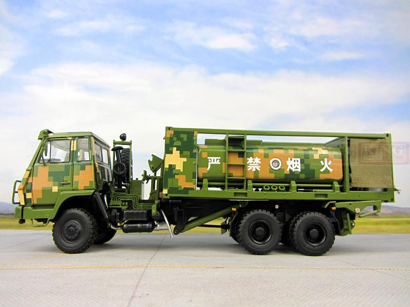 KNL Hobby Diecast Truck 1:43 scale Steyr Truck Oil tanker Chinese army Military Shan Xi Automobile truck PLA heavy truck Container truck