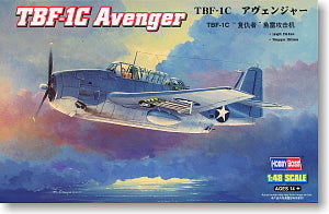 Hobby Boss 1/48 scale aircraft models 80314 TBF-1C Avenger carrier attack aircrafts