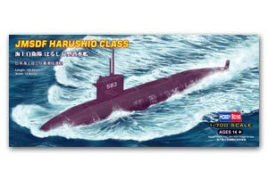Hobby Boss 1/700 scale models 87018 J.M.S.D.F. spring tide level conventional attack submarine