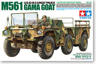 "TAMIYA 1/35 scale models 35330 US M561 ""Gamma Goat"" articulated off-road truck"