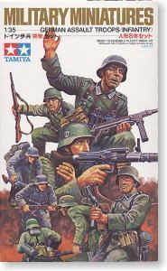 TAMIYA 1/35 scale models 35030 World War II German infantry assault group