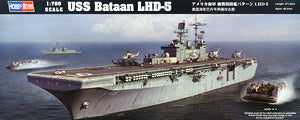 "Hobby Boss 1/700 scale war ship models 83406 US Navy Hornets LHD-5 ""Badan"" amphibious assault ship"