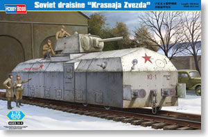 "Hobby Boss 1/72 scale models 82912 Soviet armored train ""Red Square Red Star"""