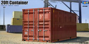 Trumpeter 1/35 scale models 01029 20 ft container