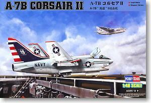 Hobby Boss 1/48 scale aircraft models 80343 A-7B Pirate II Carrier Attacker *