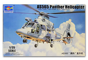 "Trumpeter 1/35 scale model 05108 AS565 ""Panther"" helicopter"
