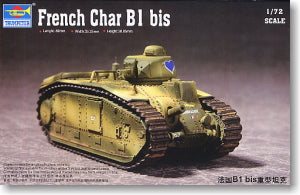 Trumpeter 1/72 scale model 07263 France Chal B1bis heavy chariot