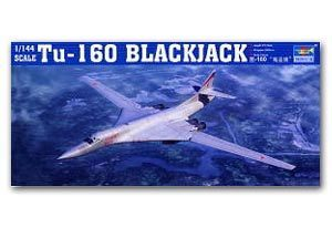 TRUMPETER 1/144 scale model 03906 Tu-160 Pirate Flag Supersonic Bomber