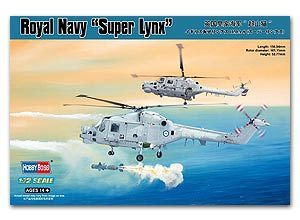 Hobby Boss 1/72 scale helicopter model aircraft 87238 Royal Navy Super Bobcat HMA.MK.8 Carrier Helicopter