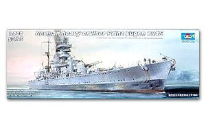 Trumpeter 1/700 scale model 05767 Germany Prince Eugen Heavy Cruiser 1945 *