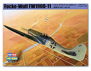 Hobby Boss 1/48 scale aircraft models 81718 Fokker - Wolf Fw190D-11 Fighter *