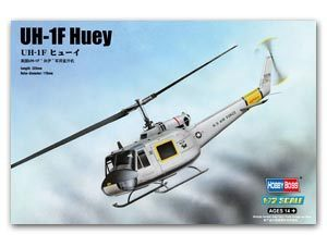 Hobby Boss 1/72 scale helicopter model aircraft 87230 UH-1F Yiluo Kui general helicopter