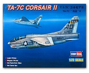 Hobby Boss 1/72 scale helicopter model aircraft 87209 TA-7C Pirate II carrier-based attack aircrafts