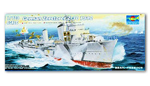 "Trumpeter 1/700 scale model 05788 German Navy Z-Class ""Z-30"" destroyer 1942"