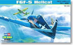 Hobby Boss 1/48 scale aircraft models 80339 F6F-5 hell cat carrier fighter *
