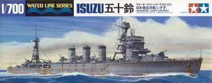 "TAMIYA 1/700 scale model 31323 in the Japanese Navy long ""Isuzu"" light cruiser"