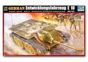 Trumpeter 1/35 scale model 00385 Germany E-10 plan chariot