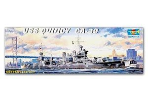 "Trumpeter 1/700 scale model 05748 US Navy New Orleans CA-39 ""Quincy"" heavy cruiser"