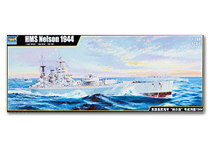 "Trumpeter 1/200 scale 03708 The Royal Navy HMS ""Nelson"" Battleship 1944"