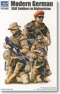 Trumpeter 1/35 scale soldier figure model 00421 German security assistance force in Afghanistan