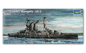 Trumpeter 1/700 scale model 05780 British Navy Elizabeth Queen Class Battle Battleship 1915