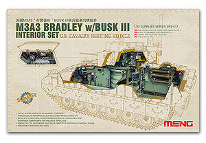 "MENG SPS-017 M3A3 within ""Bradley"" BUSK III Cavalry Chariot configuration kit"