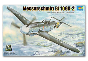 Trumpeter 1/32 scale model 02294 Messers Mitter Bf109G-2 Fighter *