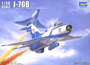 Trumpeter 1/48 scale model 02862 J-7GB (F-7GB) performance machine