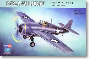 Hobby Boss 1/48 scale aircraft models 80328 F4F-4 wildcat carrier fighter