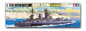 "TAMIYA 77504 World War II Royal Navy Nelson ""Nelson"" battleship"