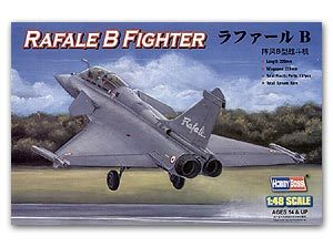 Hobby Boss 1/48 scale aircraft models 80317 Rafale B Fighter Bombers