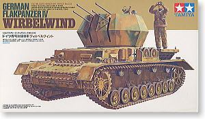 "TAMIYA 1/35 scale models 35233 4 on the air chariot ""whirlwind"""